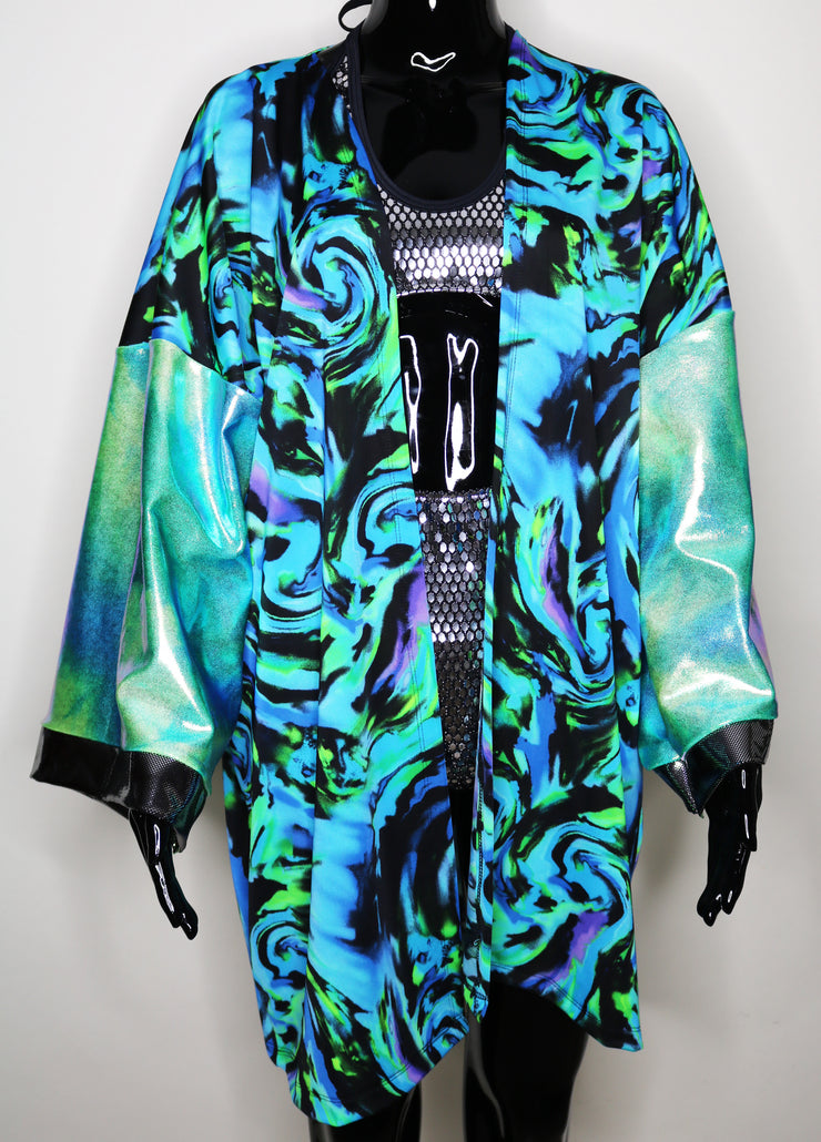 Space Ocean One-Of-A-Kind Festival Jacket