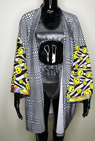 Raver's Illusion One-Of-A-Kind Festival Jacket