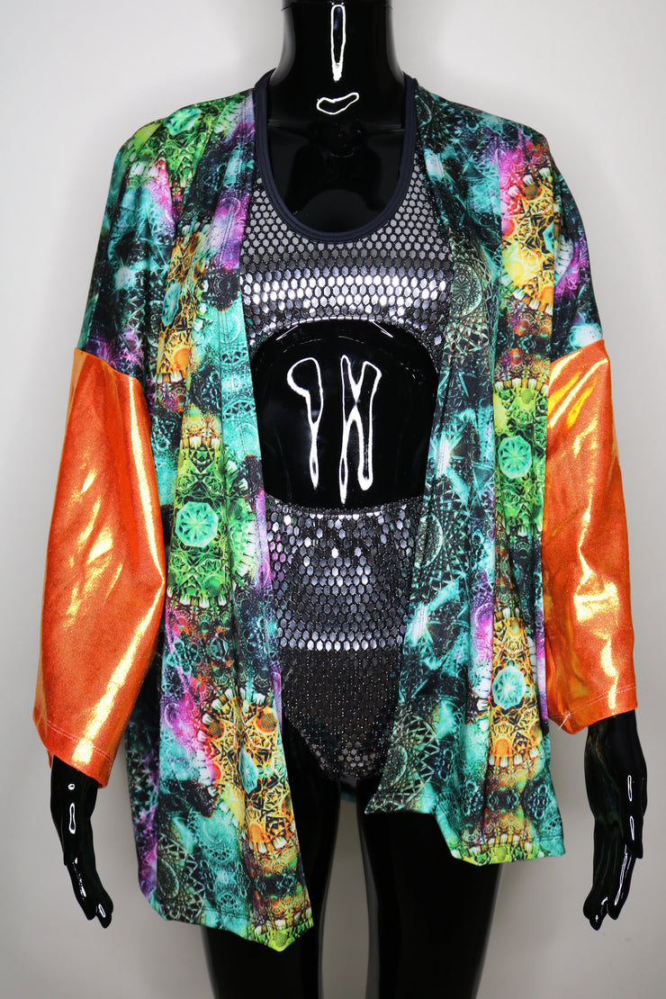 Sacred Naranja One-Of-A-Kind Festival Jacket