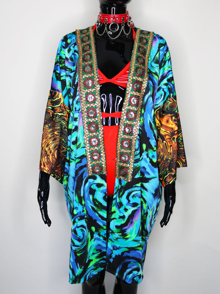 Underwater Freak Festival Jacket - ONE OF A KIND