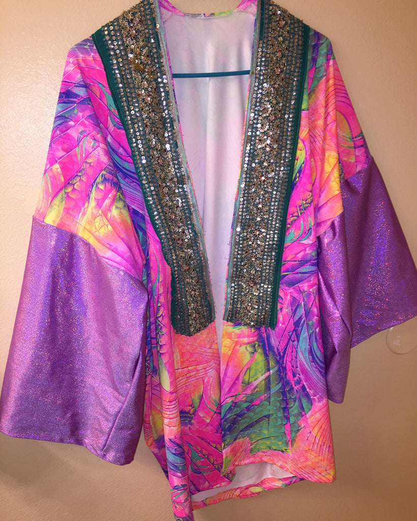 Kinky Tail Festival Jacket - ONE OF A KIND