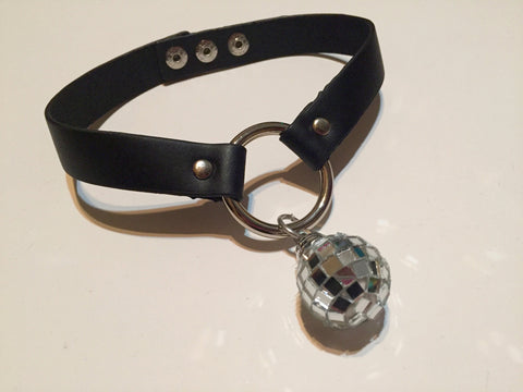 Disco Ball Choker - Black