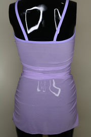 The Lolita Mesh Dress - Lavender