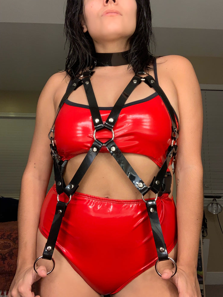 Medianoche PVC Harness - LUITRASH