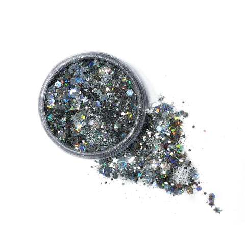 Lunautics Moon Dust Glitter - Sterling (XL) Biodegradable