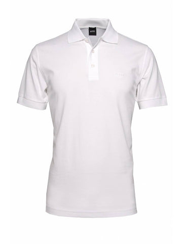 White Polo V-neck T-shirt Plain - Appointus Online Stores