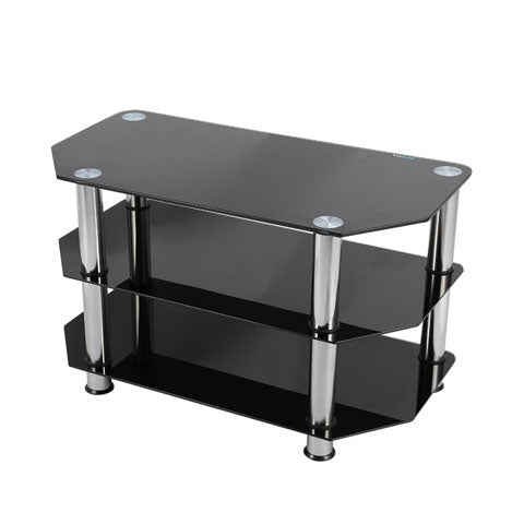 Black Glossy TV Table