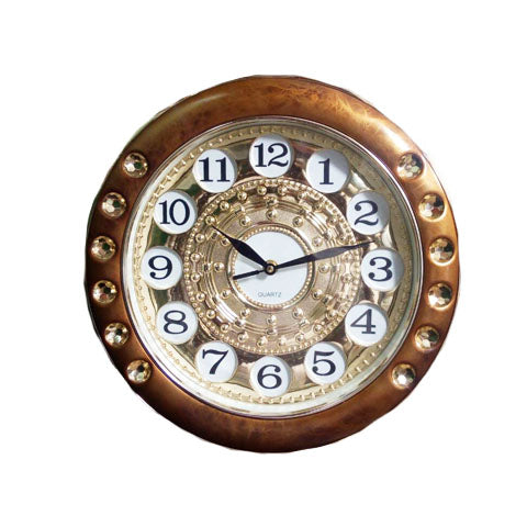 Fancy Golden Wall Clock for home