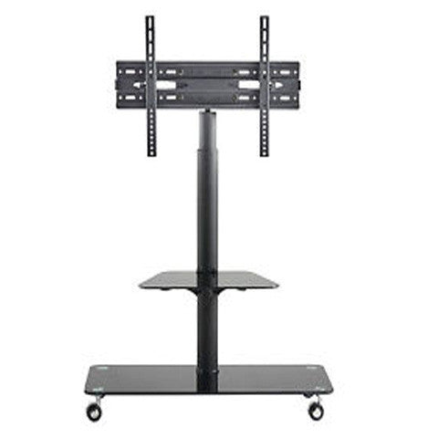"Plasma TV Trolley Stand Mounting Bracket & Glass Shelf 24"" - 43"" - Appointus Online Stores"