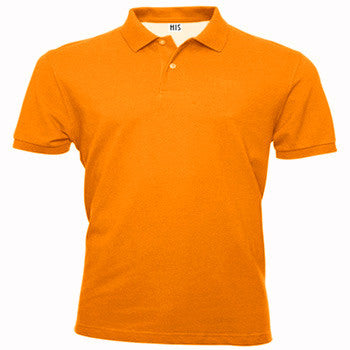 Light Orange Polo T-Shirt - Appointus Online Stores
