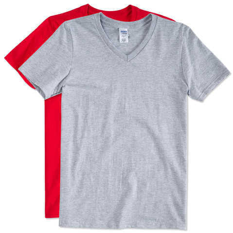 Grey and Red V-neck T-shirt Pack - Appointus Online Stores
