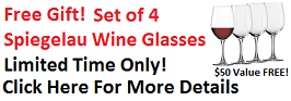 Free Wine Glass Give Away