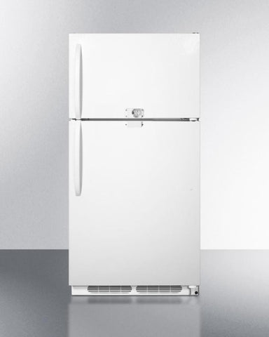 14.8 cu.ft. refrigerator-freezer with dual lock CTR15LLF2 - Good Wine Coolers