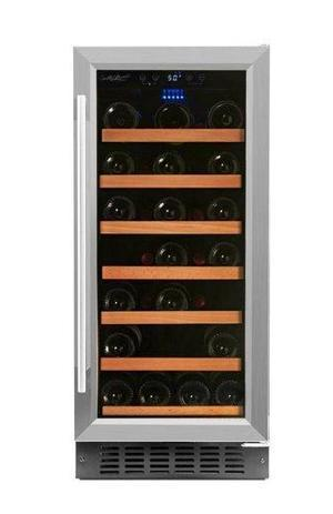 34 Bottle Single Zone Wine Cooler RW88SR