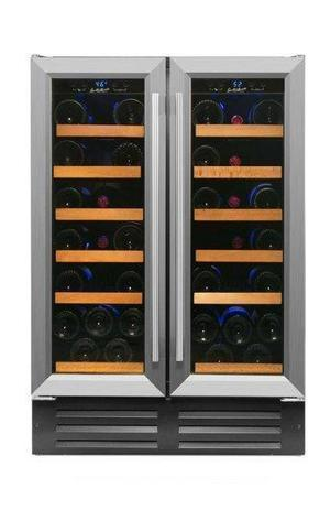 40 Bottle Dual Zone Wine Cooler RW116D