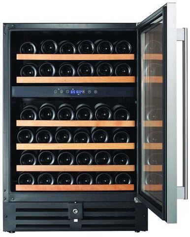 46 Bottle Dual Zone Wine Cooler RW145DR