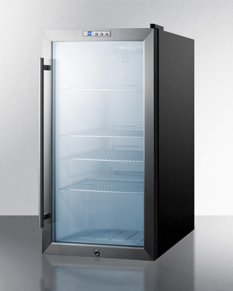Commercial Counter Height Beverage Refrigerator Scr486l