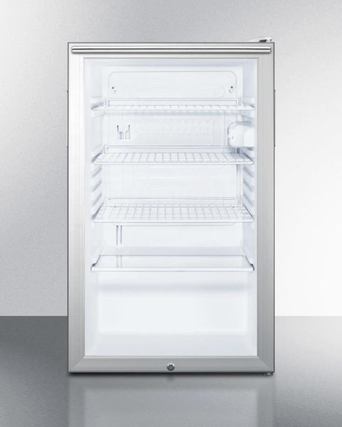 Counter Height 20 Quot Wide Glass Door Refrigerator Scr450l7hh Good Wine Coolers