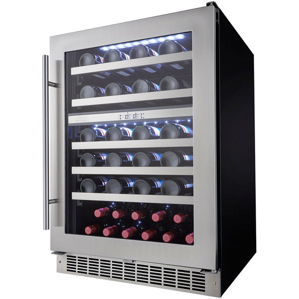 Danby Silhouette Built In Dual Zone Wine Cooler