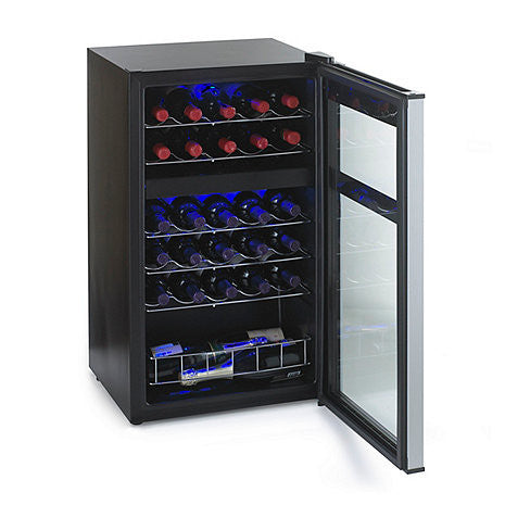 Wine Refrigerator Reviews >> Wine Enthusiast Evolution Series 29 Bottle Dual Zone Wine Cooler – Good Wine Coolers