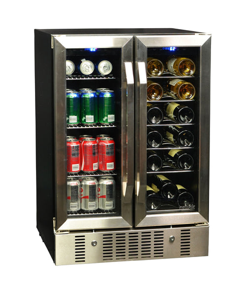 Newair Dual Zone Wine Cooler And Beverage Cooler Awb 360db