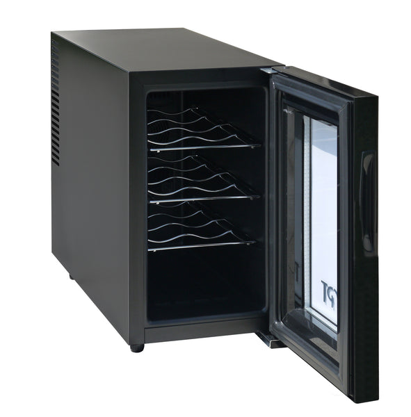 Spt Wc 0888h 8 Bottle Thermo Electric Slim Wine Cooler