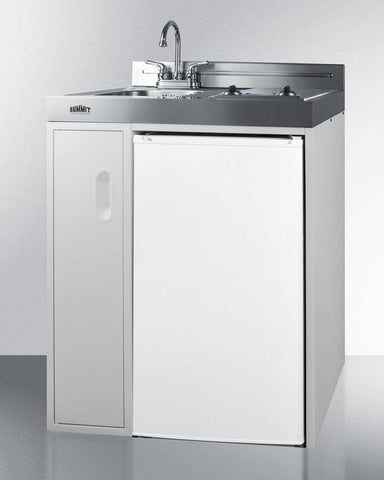 Summit All In One Combination Kitchen C30elautoglass Good Wine Coolers