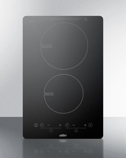 Two Burner Built In Smooth Top Induction Cooktop 115v