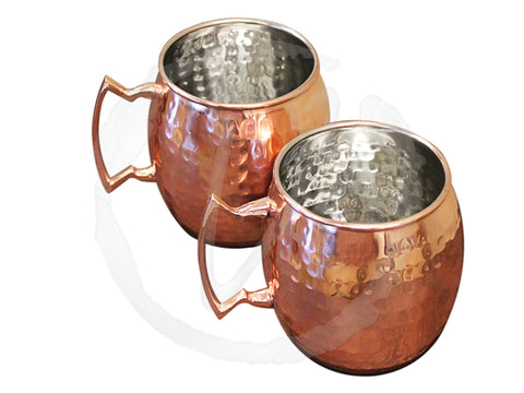 Vinotemp Epicureanist Moscow Mule Mugs (S/2) EP-MMULE01 - Good Wine Coolers