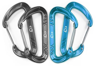 Carabiners - Live Infinitely Wiregate Hammock Carabiner Clips
