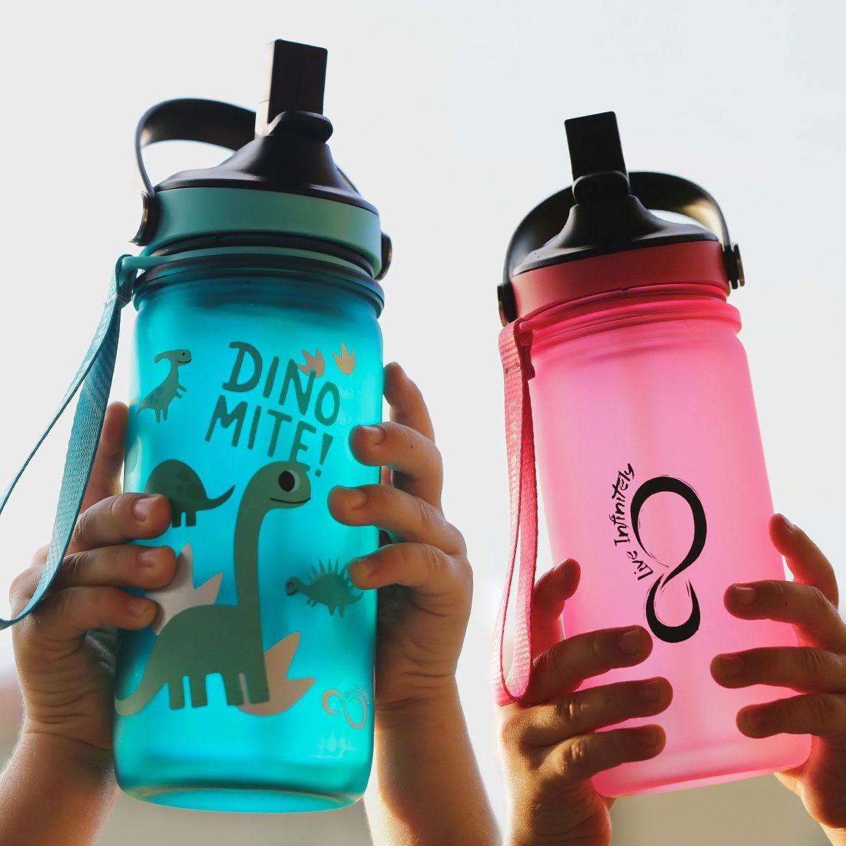 Kids Water Bottles - Kids 12oz Insulated Bottles