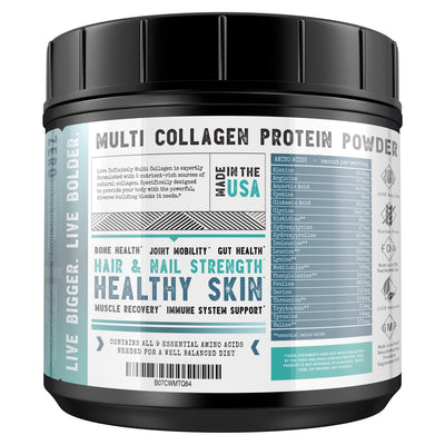 Multi Collagen - Multi Collagen Protein Powder Type I, II, III, V & X Collagen