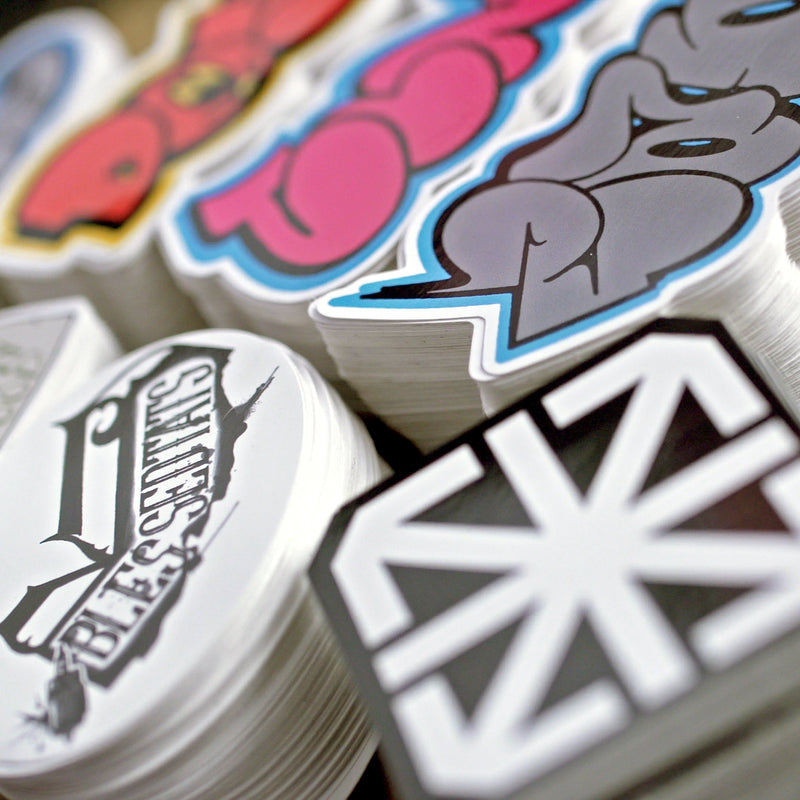 Stickers - Custom Shape Die Cut