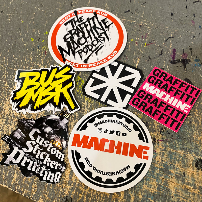 Sticker Sample Pack