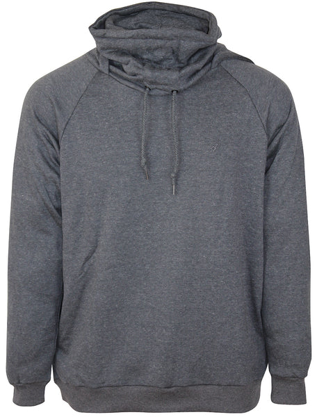 ARSNL Men's Pullover Ninja Hoodie 3367 Heather Charcoal Terry Grey Gray