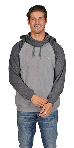 ARSNL Men's Pullover Ninja Hoodie 3367 Heather Grey Charcoal Gray