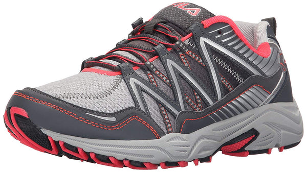 Womens Trail Running Shoes Mesh Sneakers Headway 6 Grey Pink 5SH40137-262 Size- 6