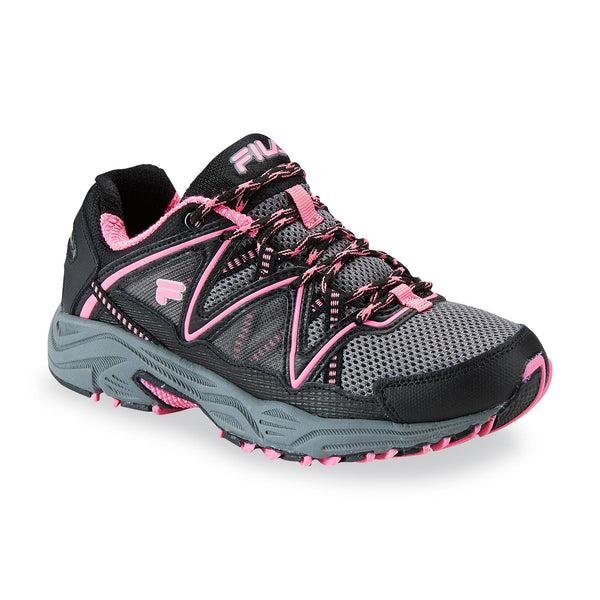 Womens Outdoor Running Shoes Mesh Sneakers Vitality V Dark Grey Pink 5SH40139-011 Size- 7.5