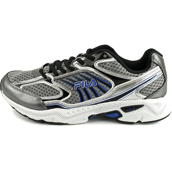 5815a2dd7 Fila Mens Memory Inspell Running Shoes 1SR20605-057 Dark Silver Black  Prince Blue – DSTNY LA