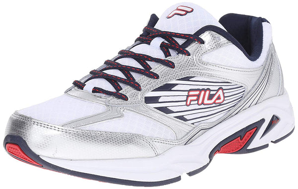 Fila Mens Inspell 3 Running Shoes 1SR20979-125 White Navy Red Size- 9.5