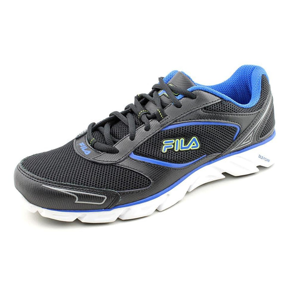 Fila Mens Ancerus 5 Running Shoes 1HR18039 Black Neon Green Prince Blue Size- 10.5