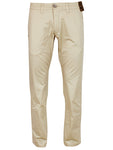 Jack South London Mens Slim Fit Straight Leg Casual Pants Chino Trousers Stone 961 Fehma