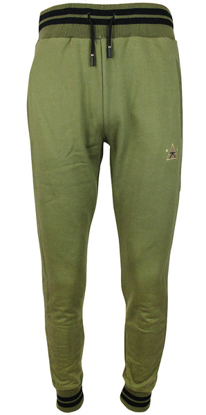 Karl Kani Men's Fleece Jogger Pants KK1737 Olive