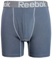 Reebok Mens Performance Training Boxer Briefs Grey size SMALL