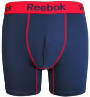Reebok Mens Performance Training Boxer Briefs Navy Red size SMALL