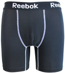 Reebok Mens Performance Training Boxer Briefs Black