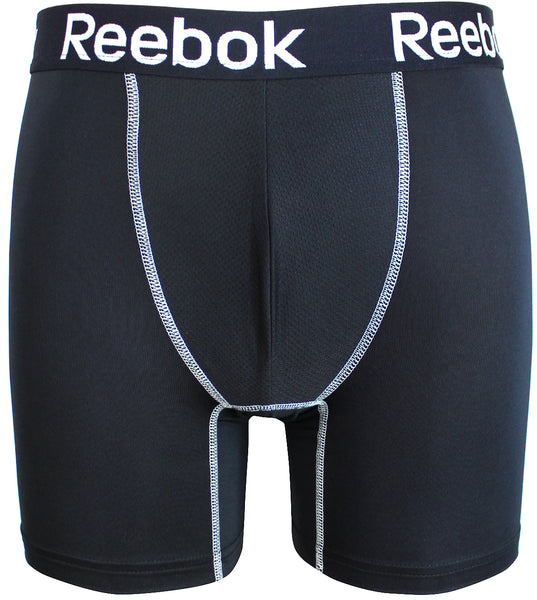 Reebok Mens Performance Training Boxer Briefs Black size SMALL