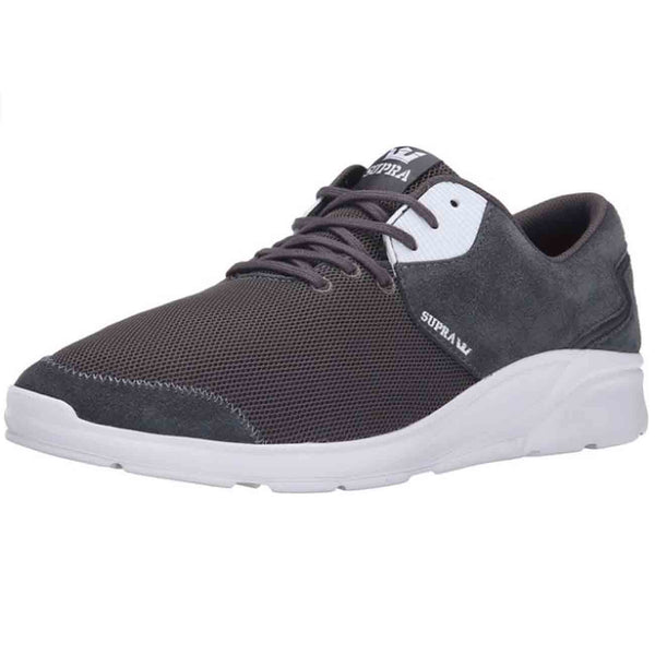 Supra Womens Noiz Low Mesh Fashion Sneaker Shoes Magnet White S56008, Size - 10.5