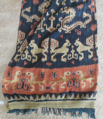 Antique Sumba Ikat hand woven traditional tapestry from Indonesia - SOLD