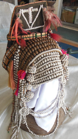 TRADITIONAL CENTRAL ASIAN WEDDING HEADDRESS